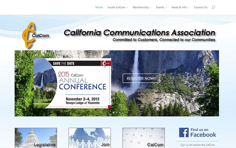 Cal Com Association Website