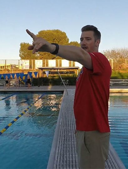 Davis Aquamonsters Woodland Relay Video