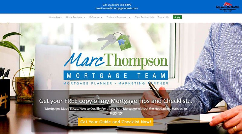 Mortgage In Davis Website