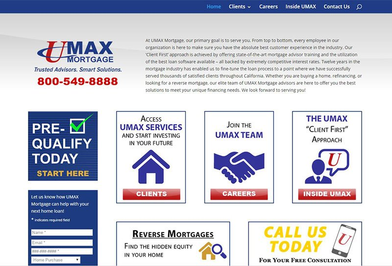 Umax Mortgage