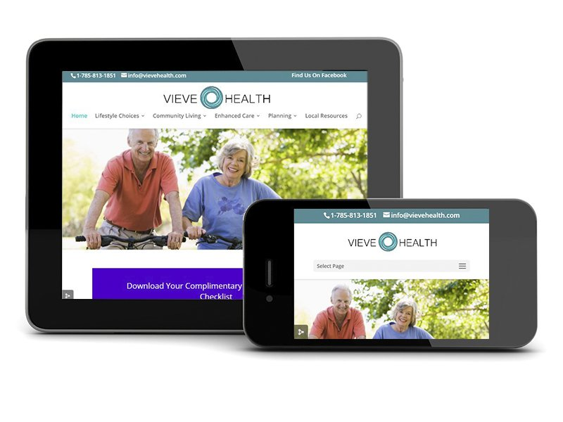 Vieve Health Website Project
