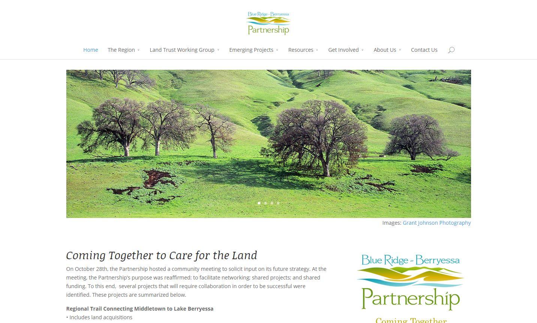 Screenshot of BRBNA.org