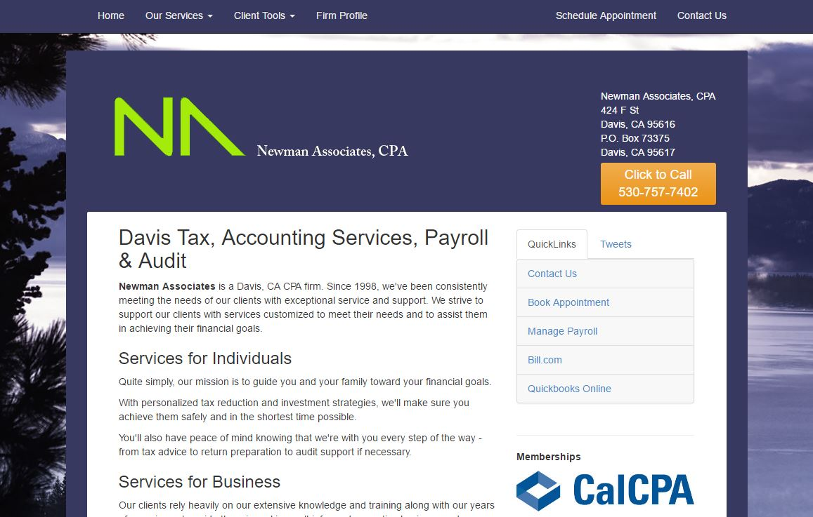 Screenshot of na-cpa.com